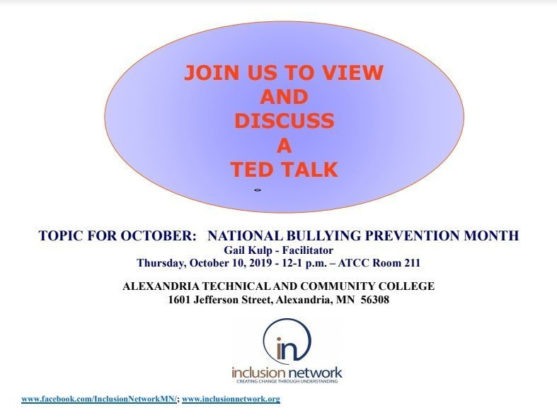 October events inclusion network