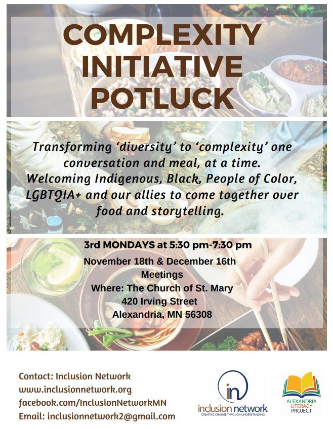 initiative potlock flyer