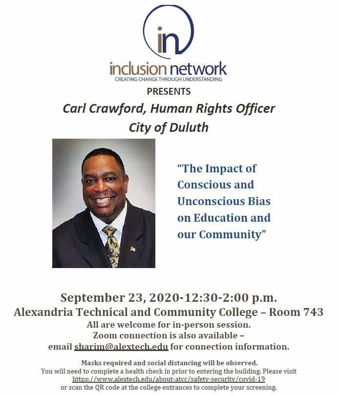 Inclusion network event